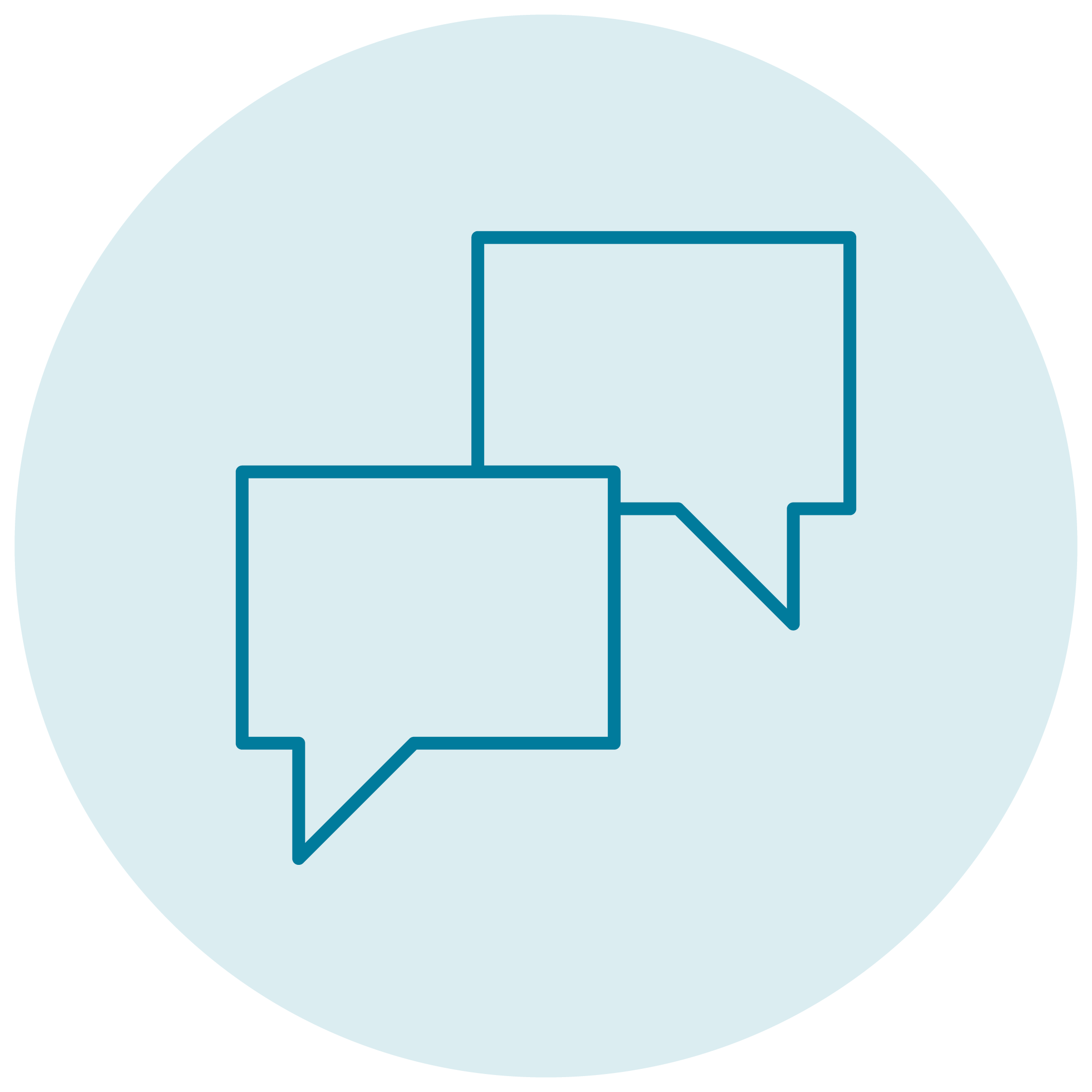 link conversations