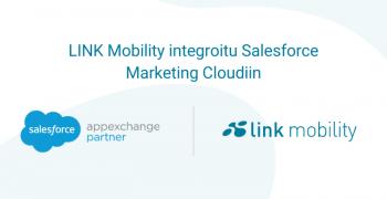 link mobility integroitu salesforce marketing cloudiin